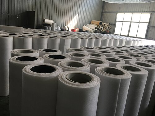3.Boxing bag-Roll up pearl cotton layer by layer
