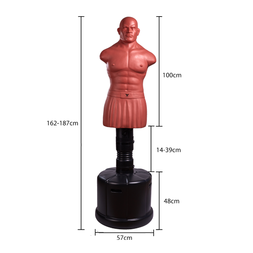 Adjustable Free-Standing Punching Dummy-Heavy Boxing Bob