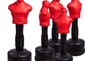 Adjustable punching bob Medium red