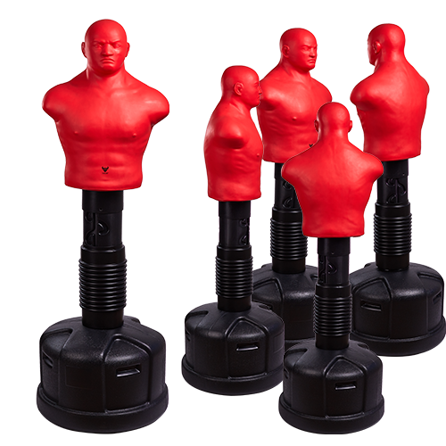 Adjustable punching bob Medium red