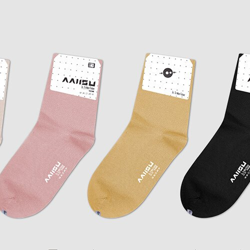 Antibacterial crew socks for women 6