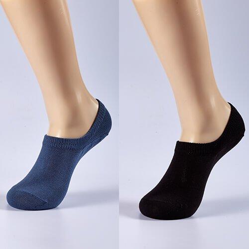 Antibacterial low cut socks for men 1
