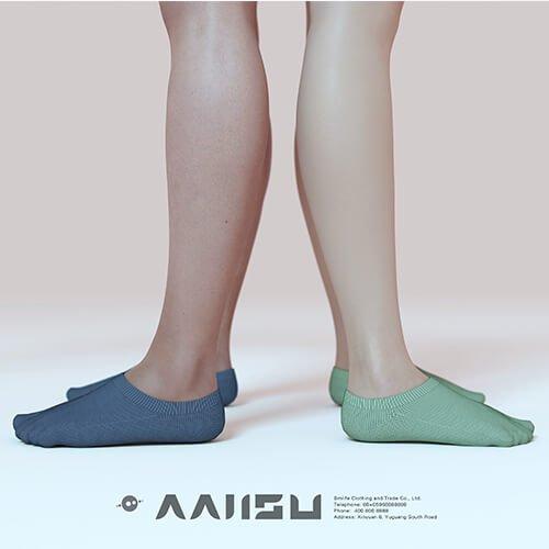 Antibacterial low cut socks for men 5
