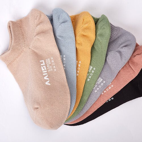 Antibacterial low cut socks for women 1