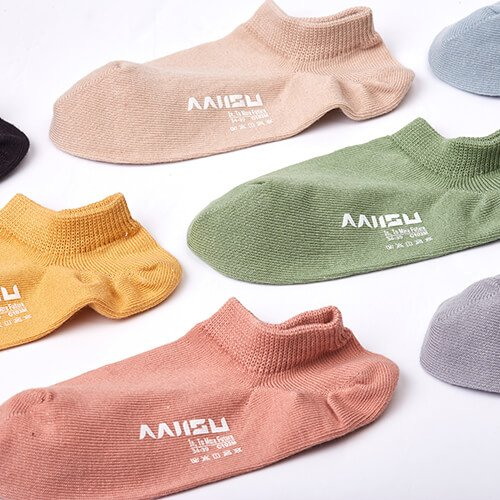 Antibacterial low cut socks for women 2