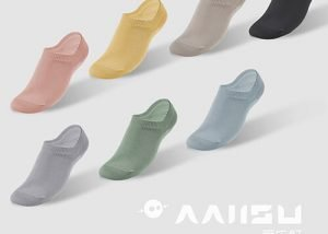 Antibacterial low cut socks for women