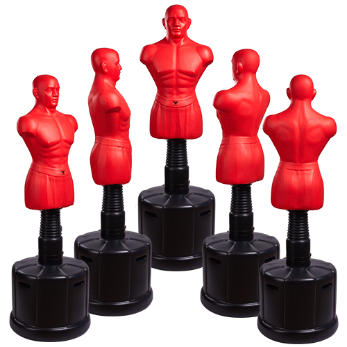 Higher Medium Size Boxing BOB red