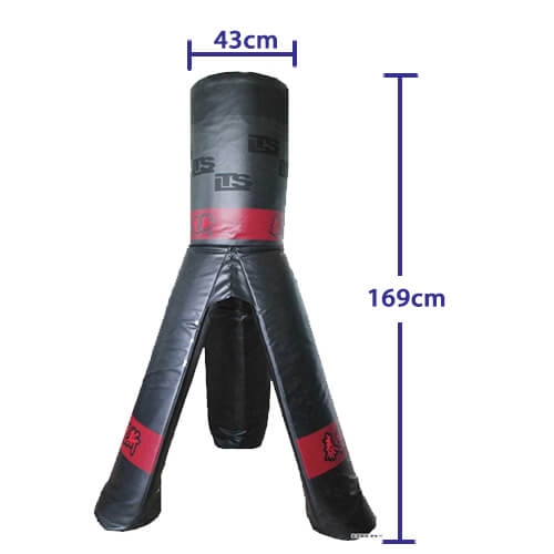 Removable Boxing Bag with three legs size
