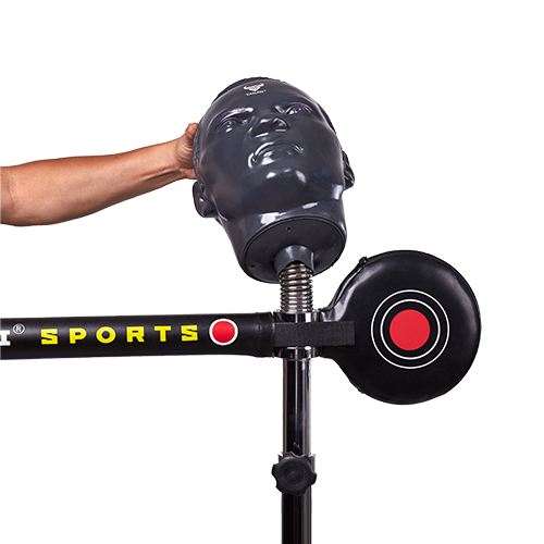 Spinning Rapid-Reflex Boxing Bar with dummy head details 1