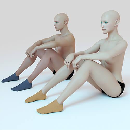 antibacterial ankle socks for women 6