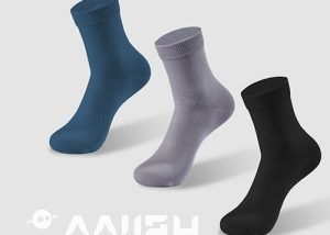 antibacterial crew socks for men
