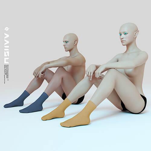 antibacterial crew socks for men 6