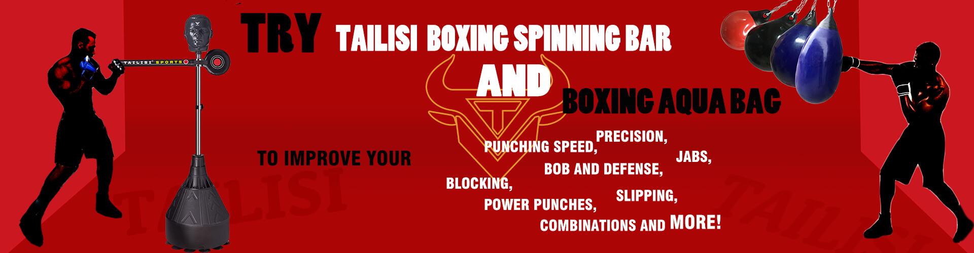 TAILISI BOXING SPINNING BAR AND BOXING AQUA BAG BANNER 2021052002